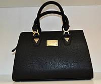 Женская черная сумка классика