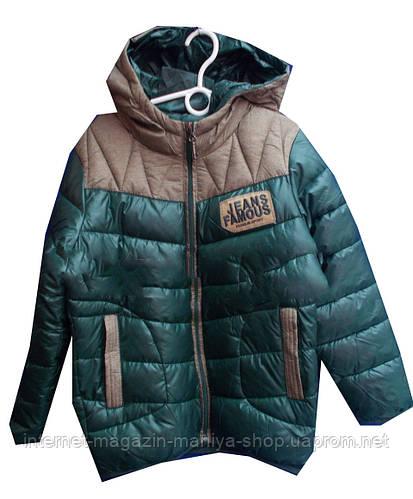 Детская куртка на мальчика (8-12 лет). Осень-зима