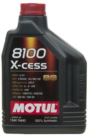 Масло MOTUL 8100 X-CESS 5W-40 2л (102869)