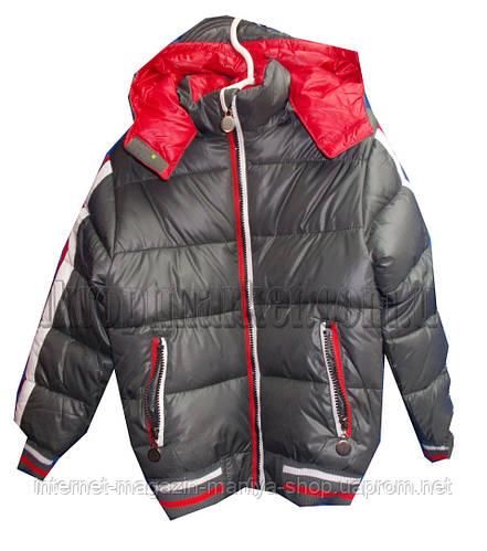 Детская куртка на мальчика (4-10 лет). Осень-зима