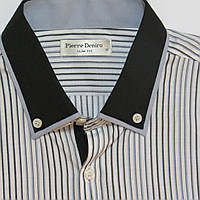 Подростковая рубашка с длинным рукавом для мальчика Турция 164см(ворот 37см)