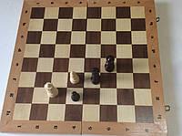 Шахматы, шашки, нарды (3 в 1), размер доски 42 х 42 см