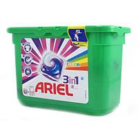 Капсулы для стирки Ariel color 15 шт.