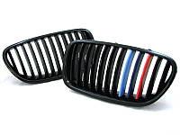 Ноздри решетки радиатора тюнинг BMW F10 F11 стиль M Performance