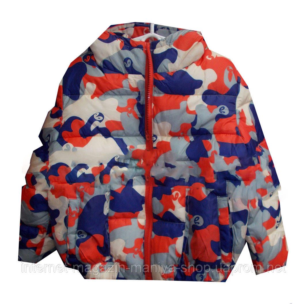 Детская куртка на мальчика (4-10 лет). Осень
