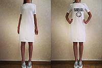 Платье до колена для сублимации размер 3XL