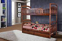 Кровать двухъярусная Кира массив сосна