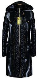 Молодёжное пальто с отделкой