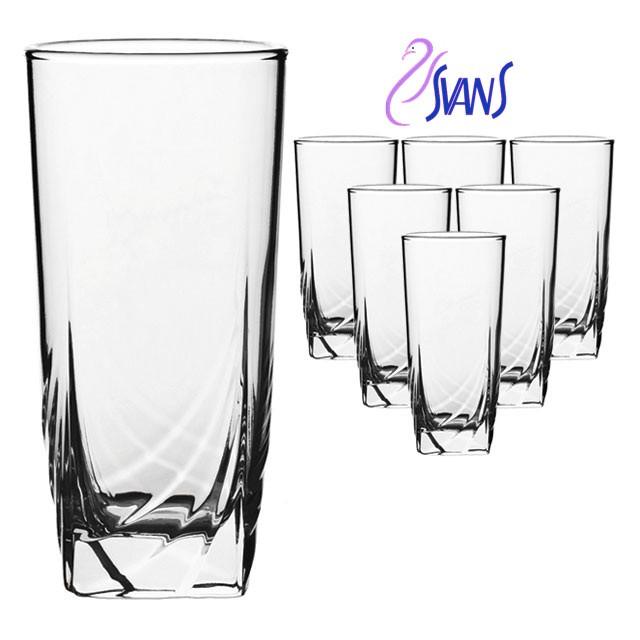 Ascot Набор стаканов высоких 330 мл - 6 шт Luminarc H9813