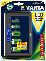 Зарядное устройство для аккумуляторов varta lcd universal charger (57678101401)