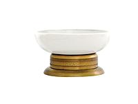 Мыльница KUGU Versace Freestand 260A (латунь, бронза, керамика)(Бесплатная доставка Новой почтой)