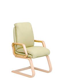 Кресло офисное Nadir Extra CF LB-1.007 экокожа Eco-45 Зеленая (Новый Стиль ТМ)