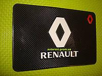 Коврик под телефон силиконовый не скользящий Renault