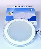 LED PANEL LIGHT 18W Glass Точечный светодиодный светильник круг