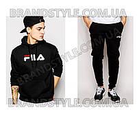 Спортивный костюм Fila черный