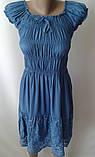 Однотонные красивые платья с вышивкой, фото 2