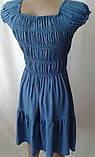 Однотонные красивые платья с вышивкой, фото 4