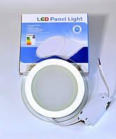 LED PANEL LIGHT 12W Glass Точечный светодиодный светильник круг