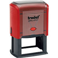 Оснастка для штампа пластмассовая 60х40мм, Trodat 4927 красный