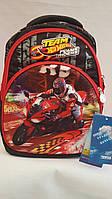 Школьный рюкзак для мальчиков Hot Wheels, красный