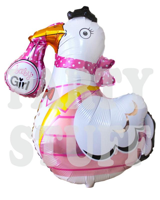 фольгированный шарик Аист