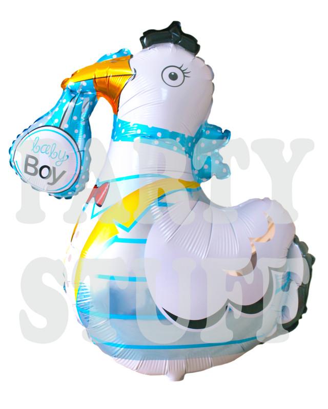 фольгированные шарик Аист