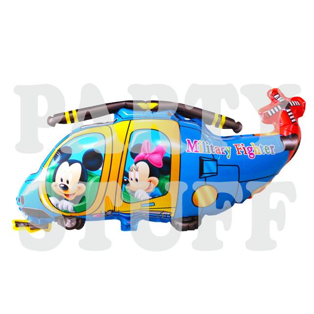 вертолет синий Микки и Минни Маус