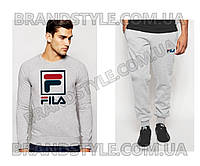 Спортивный костюм Fila серый