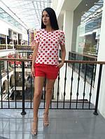 Женский костюм с шортами п-500045
