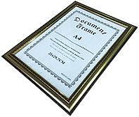 Рамки для фотографий (21х27,9см) серебро с окантовкой