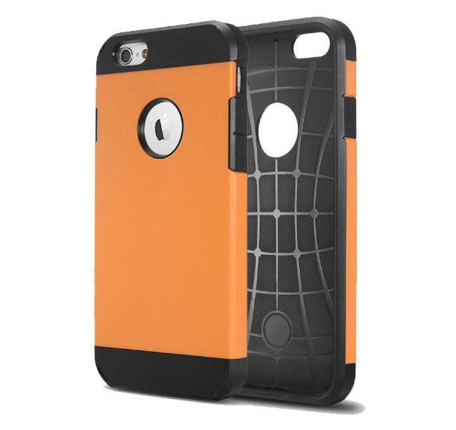 Противоударный бампер Spigen для Apple iPhone 5/5S/5SE Orange