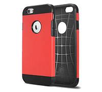 Противоударный бампер Spigen для Apple iPhone 5/5S/5SE Red