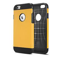 Противоударный бампер Spigen для Apple iPhone 5/5S/5SE Yellow