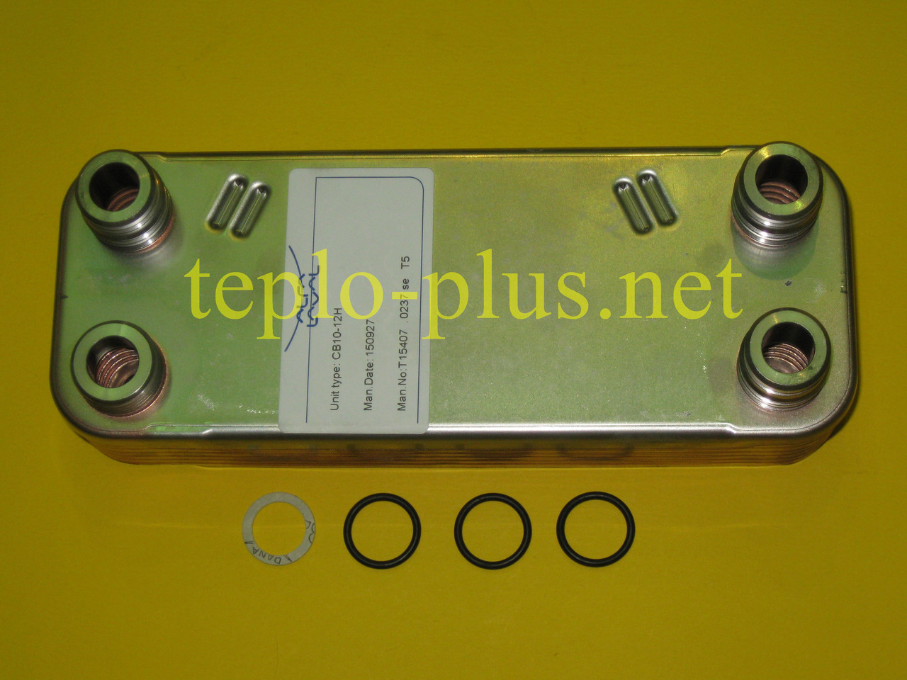 Теплообменник вторичный Alfa Laval (12 пластин) 065131 Vaillant ATMOmax, TURBOmax Pro / Plus, фото 2