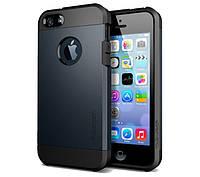 Противоударный бампер Spigen для Apple iPhone 5/5S/5SE Dark Blue