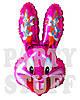 Шар фольгированный Бакс Банни Розовый, 74 см