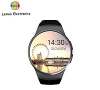 Смарт часы KW18 Bluetooth, Sim карта, microSD, педометр, монитор сна, кардио монитор