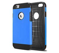 Противоударный бампер Spigen для Apple iPhone 5/5S/5SE Blue, фото 1