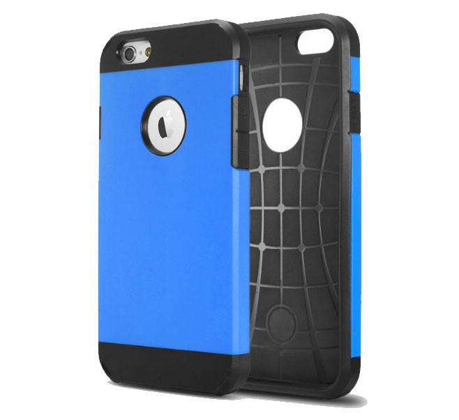 Противоударный бампер Spigen для Apple iPhone 5/5S/5SE Blue