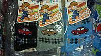 Детские носки для мальчиков с машинками в расцветке упаковкой