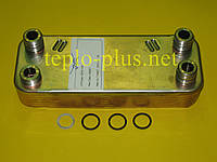 Теплообменник вторичный Alfa Laval (12 пластин) 065131 Vaillant ATMOmax, TURBOmax Pro / Plus