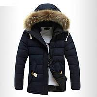 Мужской зимний пуховик-куртка. Модель 710, фото 2