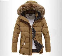 Мужской зимний пуховик-куртка. Модель 710