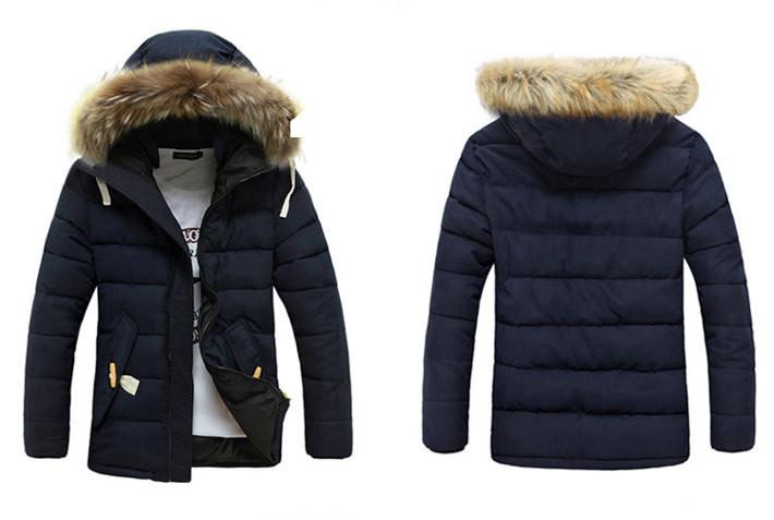 669ec6bddabaf Мужской зимний пуховик куртка. Модель 710 - купить Украина ...