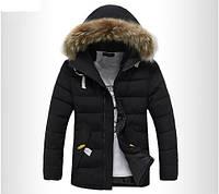 Мужской зимний пуховик-куртка. Модель 710, фото 4