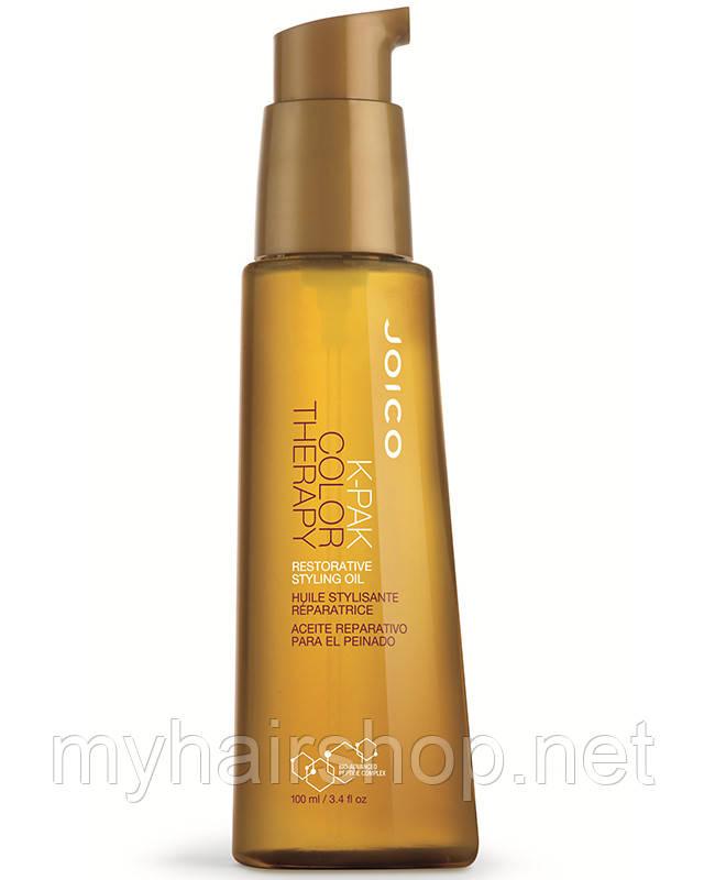 Масло восстанавливающее для окрашенных волос Joico K Pak Color Therapy Restorative Styling Oil 100мл