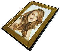 Рамки для фотографий (10х15см) золото