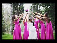 Платье женское длинное трансформер в расцветках1161
