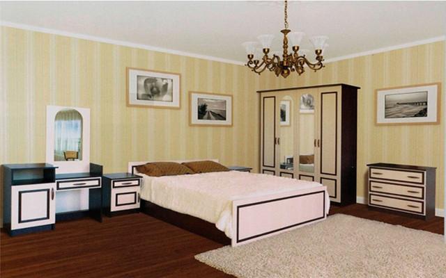 Спальня Ким (св.венге) (Світ Меблів TM)