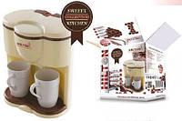 Кофеварка HILTON 5415 +2 чашки